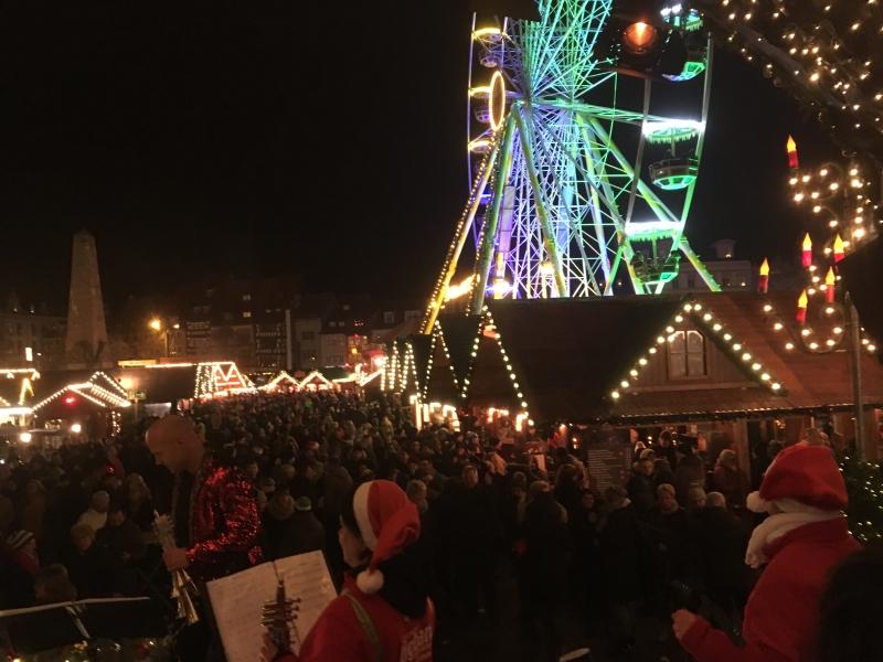 Weihnachtsmarkt 2018 Domplatz Erfurt